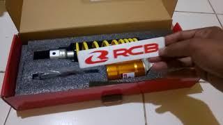 Unboxing shock rcb eb2 untuk honda beat street