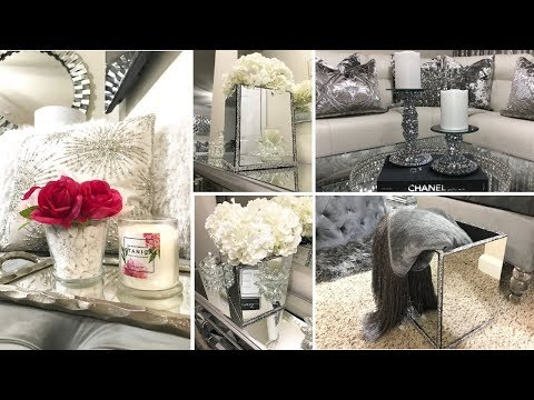 DIY Room Decor Ideas! | Glam Mirror Decor Dollar Tree & Hobby Lobby