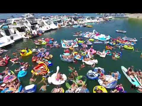 Lake Cumberland World's Largest Raft Up