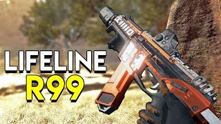 Using the R99 on Lifeline! - Apex Legends