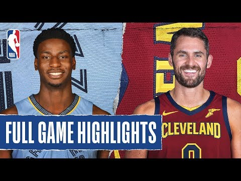GRIZZLIES At CAVALIERS | FULL GAME HIGHLIGHTS | December 20, 2019
