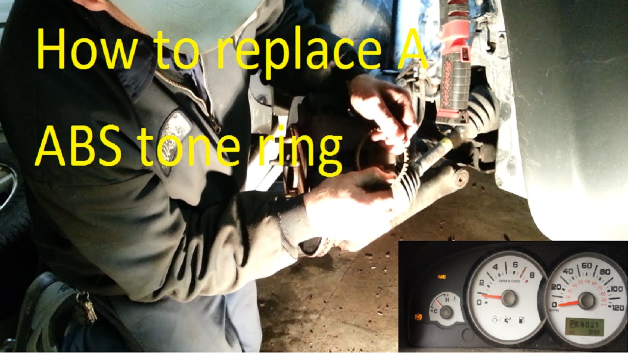 Ford escape ABS tone ring repair C1233 C1234