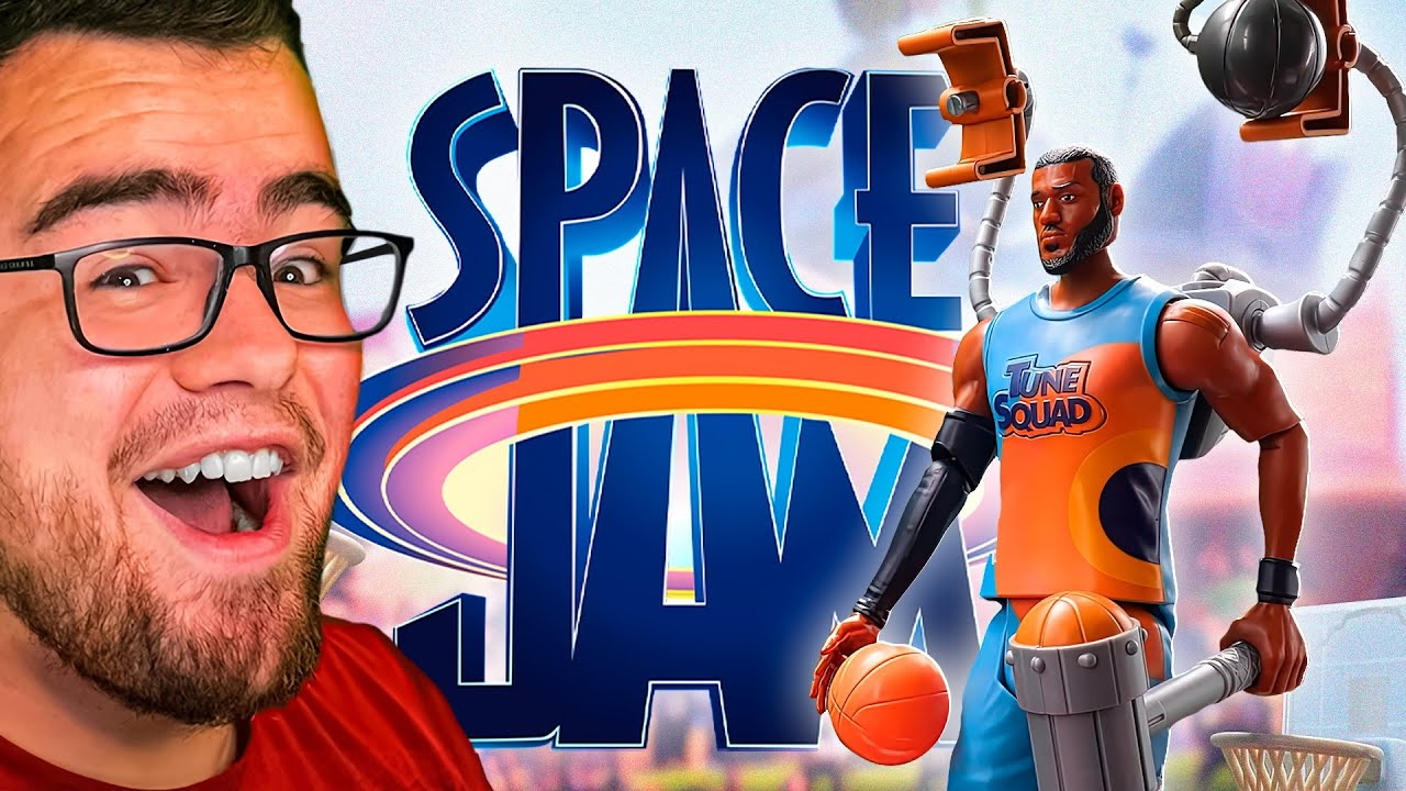 Reacting to the NEW SPACE JAM but it's TOYS!?