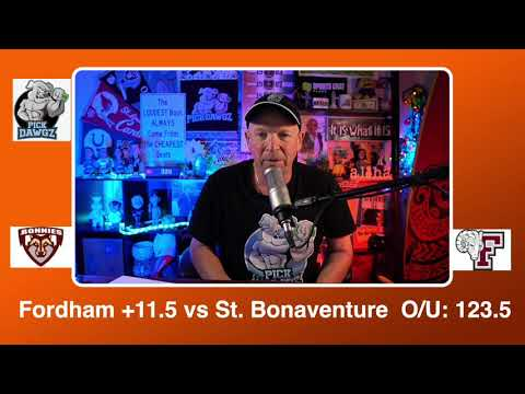 Fordham vs St. Bonaventure 1/13/21 Free College Basketball Pick and Prediction CBB Betting Tips