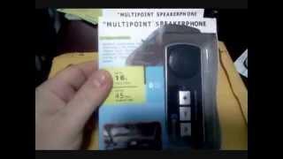 multipoint speakerphone bluetooth car kit handsfree