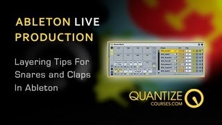 Ableton Live Tutorial - Snare Layering Tips - Includes Free Drum Rack