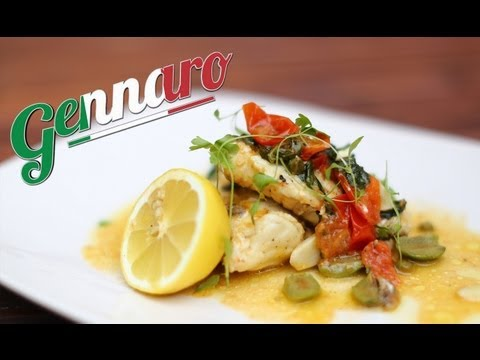 Pan Fried Monkfish Recipe With Gennaro