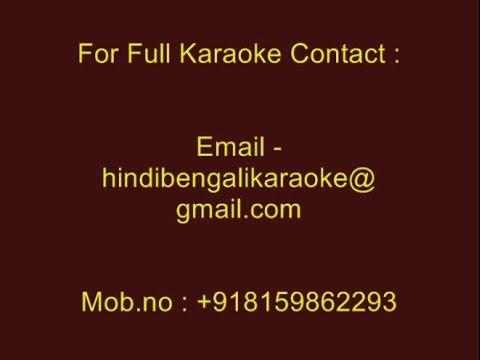 Tu Kab Yeh Jaane Gee - Karaoke - Kismat (1998) - Sonu Nigam