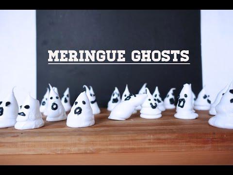 Meringue Ghosts | The Weekend Sugar