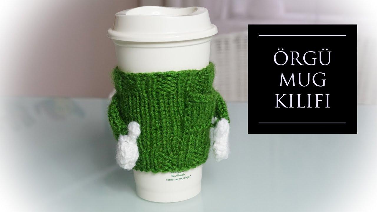 Kahve fincanları için örgü kazak / örgü hediyelikler / örgü modelleri / Figen Ararat