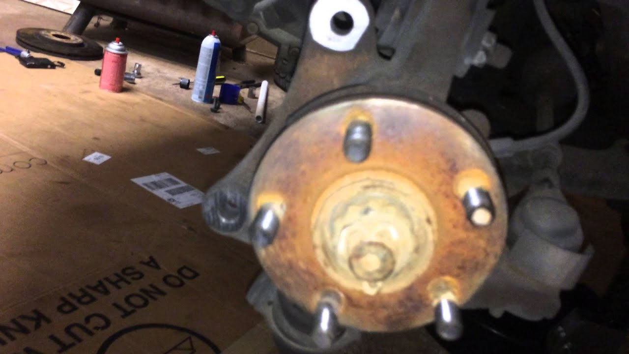 2003 Chrysler PT Cruiser GT axle problem