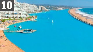 The LARGEST Pool on Earth - artificial ocean!