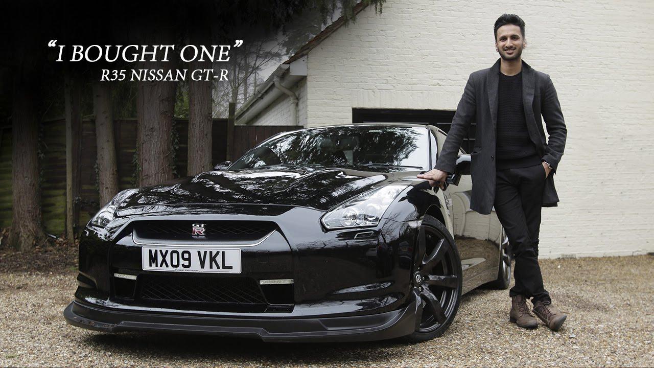 R35 Nissan GT-R - I Bought One | Car Throttle - Adnan Ebrahim - YouTube