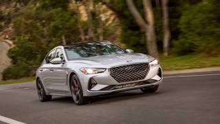 The New 2019 Genesis G70 Performance Sedan