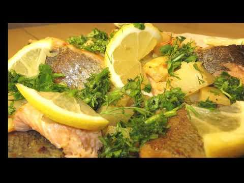 Baked Fish Recipe, Իշխան Ձուկը Ջեռոցում , Արագ և Համեղ Բաղադրատոմս, Рыбные рецепты