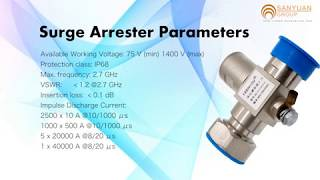 RF Surge Protection,Coax Cable Lightning Arrestor - Base Station Antenna Surge Protector Supplier