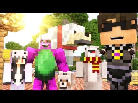 THIS IS MY HYDRANT! | Minecraft Mini-Game DOG PARK HIDE N SEEK /w Facecam!