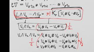 What is a Tensor: Lesson 27 (supplemental) : Normalization of p-forms and p-vectors