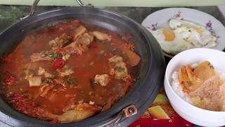 Кимчи Суп или Кимчитиге Корейская кухня Острый Суп рецепт 김치찌개 Kimchi Stew Kimchi jjigae recipe