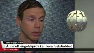 Skolverket om att ännu ett nationellt prov läckt - Nyheterna (TV4)
