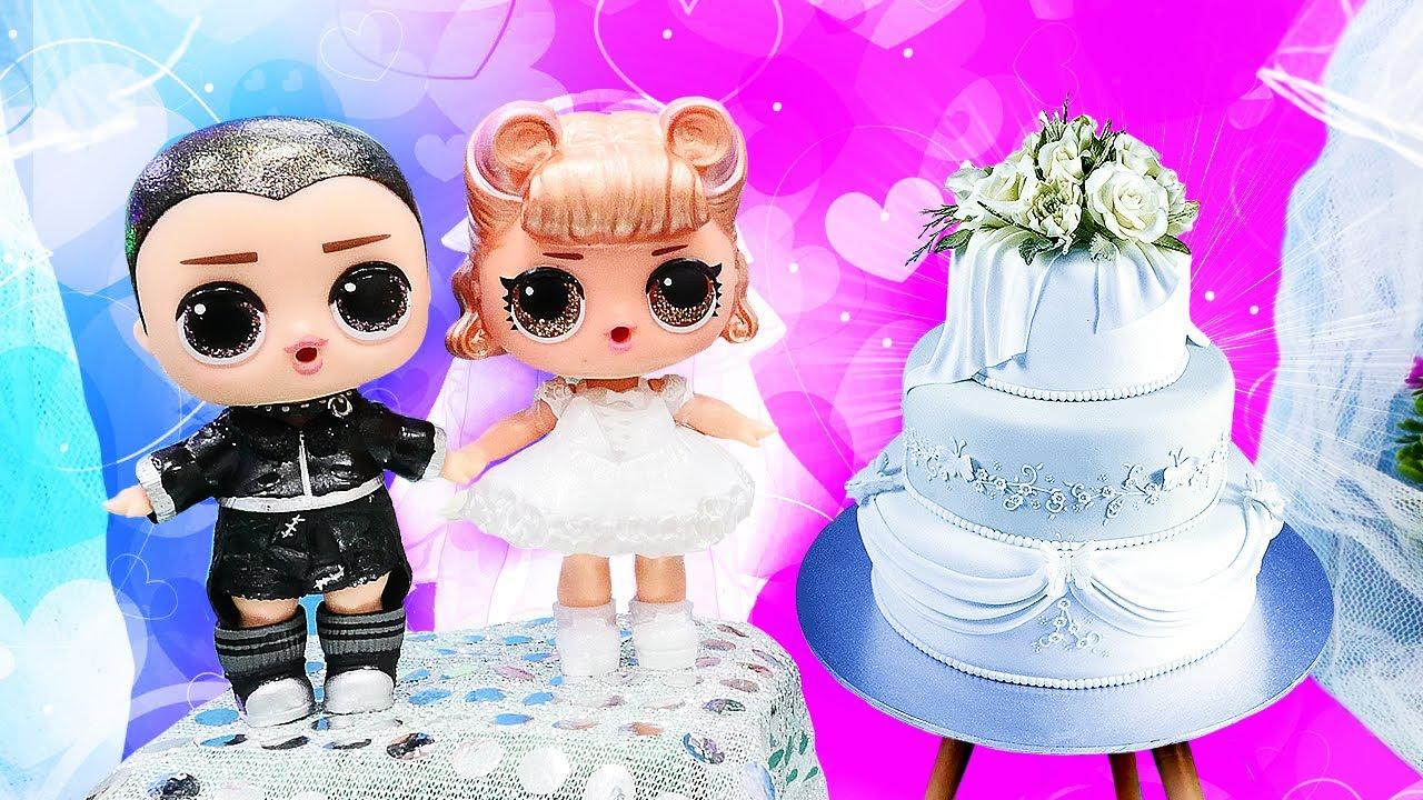 ¡Fiesta de boda de las muñecas LOL sorpresa! Vídeos para niñas. Vídeos de LOL en español