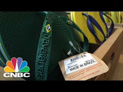 Havaianas: Flip-Flops Made In Brazil | CNBC