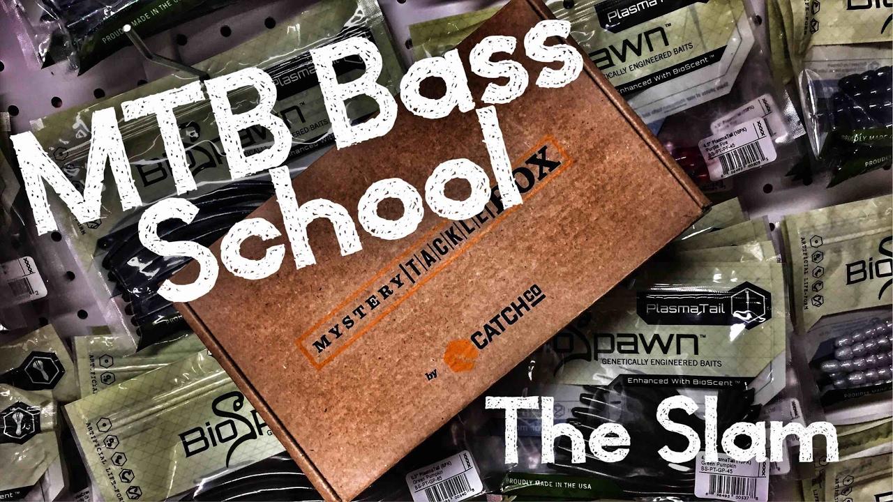 Mtb Slam Bass Fishing School The Mystery Tackle Box Way