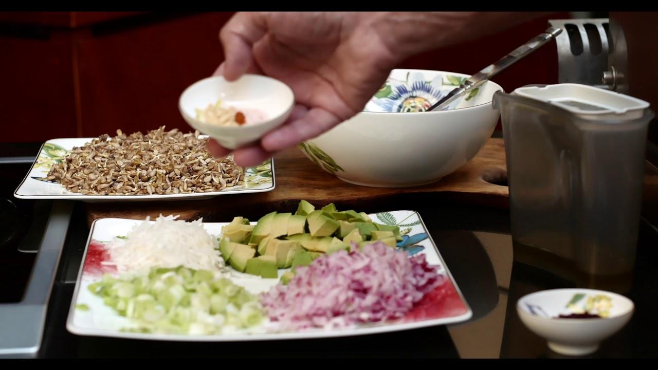 Салат для сердца и щитовидки