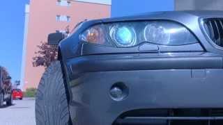 BMW 3er-Reihe E46 Bj:2002 Xenon Scheinwerfer Waschanlage