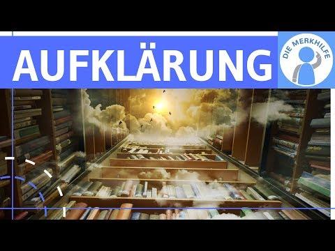 Aufklärung - Literaturepoche Einfach Erklärt - Merkmale, Literatur, Geschichte, Vertreter
