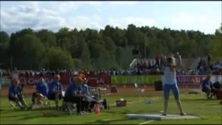 Алена Бугакова из Конаково - бронзовый призер Чемпионата Европы по легкой атлетике среди юниоров