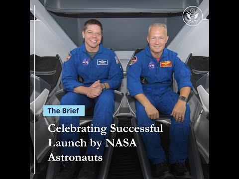 Spox Vox: Celebrating Successful Launch by NASA Astronauts