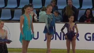 Ladies Award Ceremony   ISU JGP 1 AUS 2017