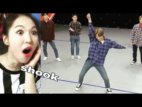 Exo Kai learned Red Velvet's Bad Boy choreography in 5 mins #shook