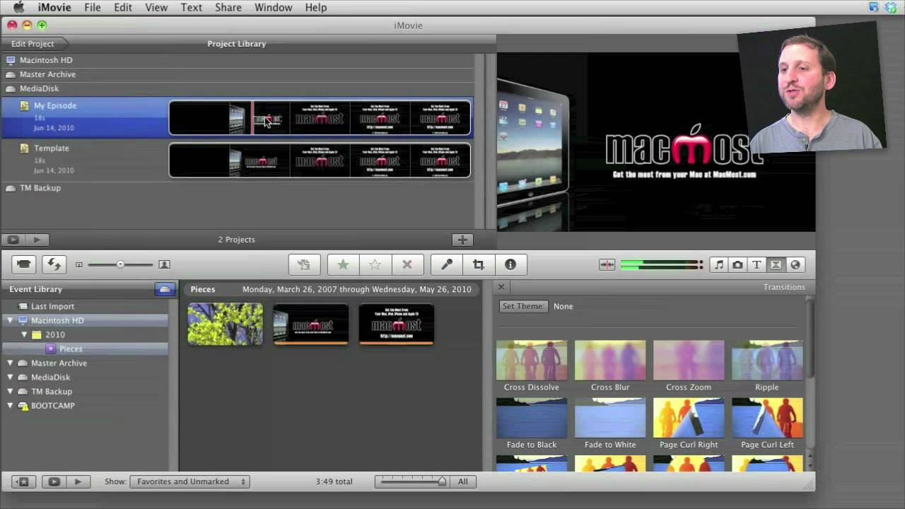 Creating iMovie Templates (MacMost Now 427) - YouTube