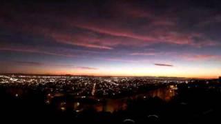 San Francisco Moonrise Sunset Time Lapse Flv