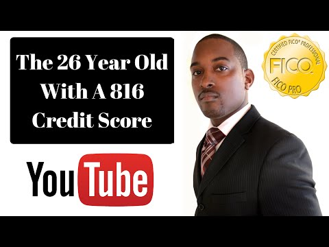 26 Year Old With A 816 FICO Credit Score - 850 Club Credit Consultation