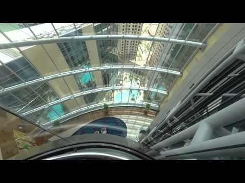 Elevator Ride in Dubai