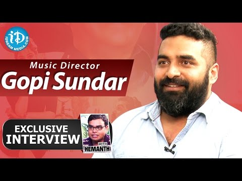 Music Director Gopi Sundar Exclusive Interview || Talking Movies with iDream # 139