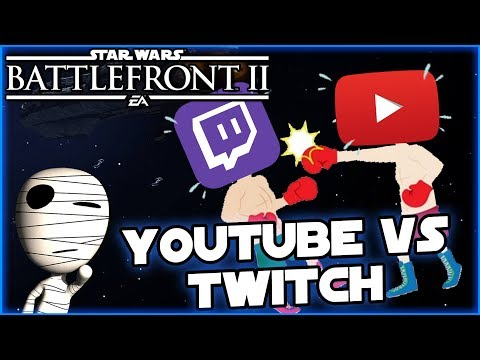 Youtube vs Twitch! -Star Wars Battlefront II #198 - Tombie Lets Play thumbnail