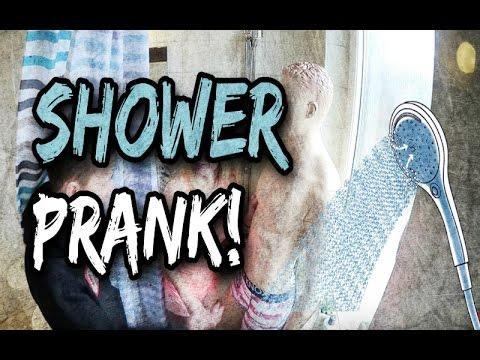 Shower prank