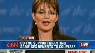 Palin and Biden on Same-Sex Marriage