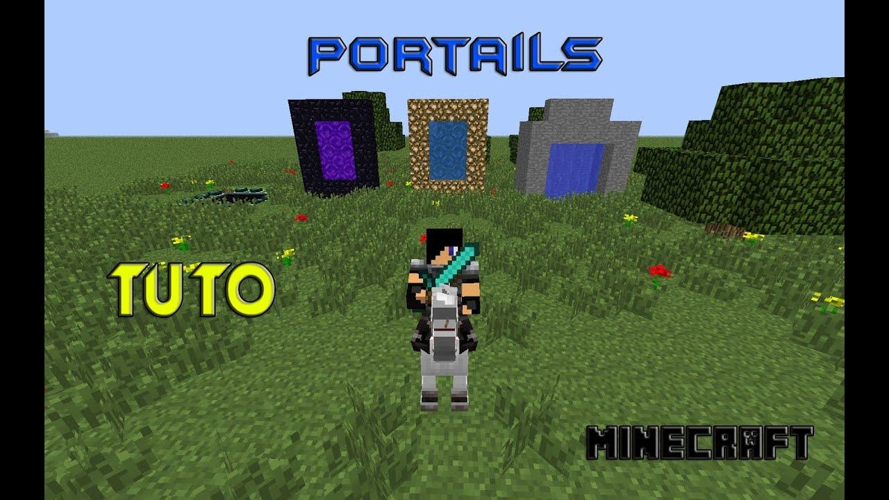 Fr tuto comment faire tous les portails minecraft 1 6 - Comment faire un coussin de sol ...