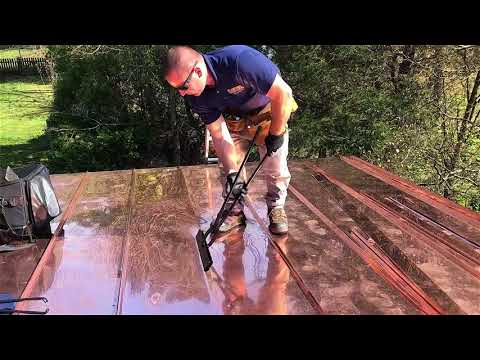 Double Lock Copper Roofs - Bonner Master Roofing