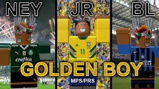 ROBLOX [MPS/PRS] • NeymarJuniorBL 'Golden Boy' • Skills and Highlights • HD