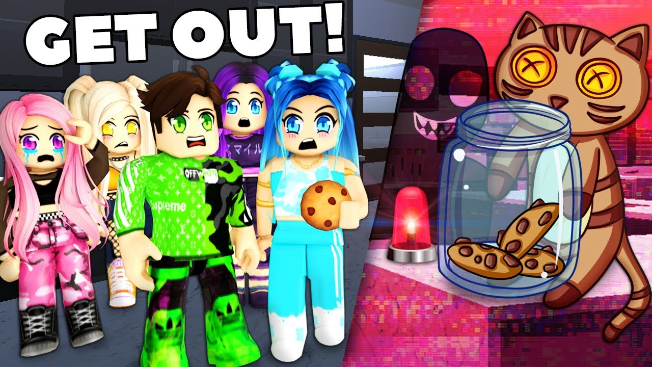 Youtube Itsfunneh Roblox Family Haunted Room