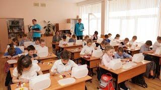 Отбор детей на Фестиваль Лего в школе №7