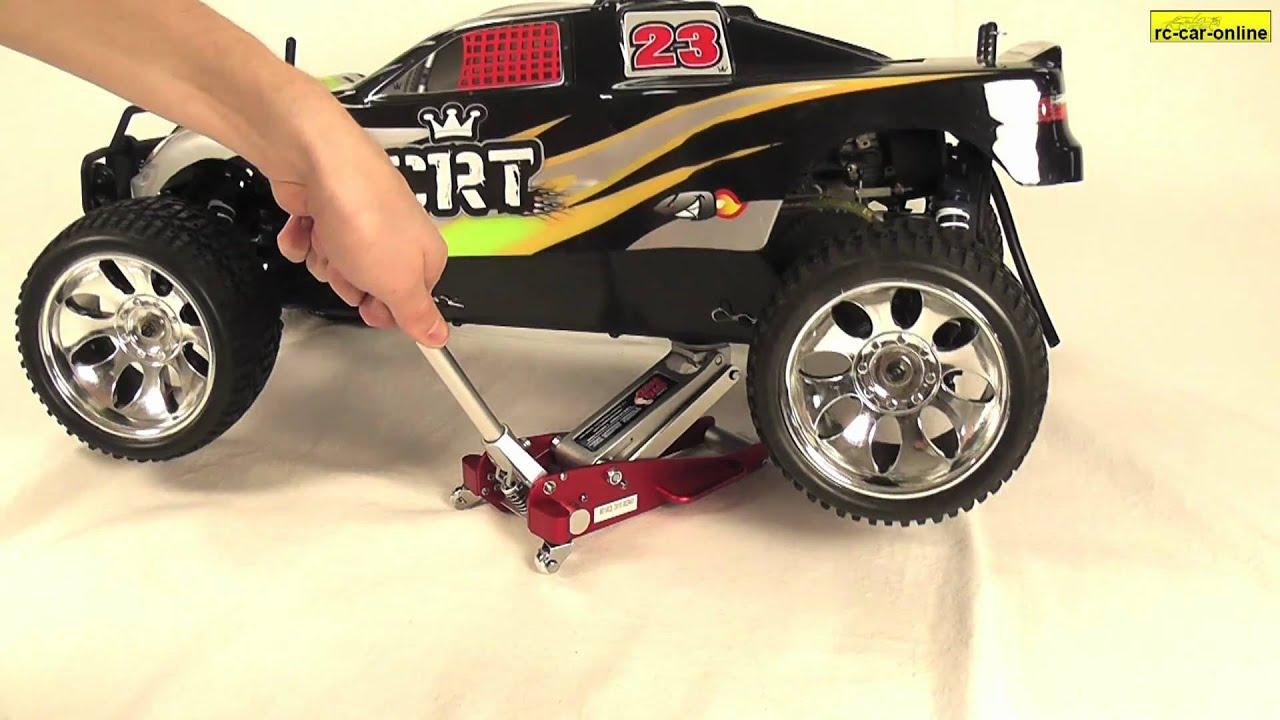 Y0837 Torin Big Red Jacks // Miniatur Wagenheber // Rc Car Online   YouTube