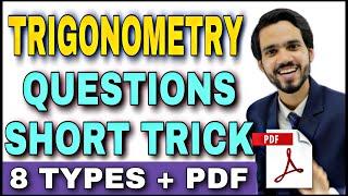 Trigonometric Formulas Class 12