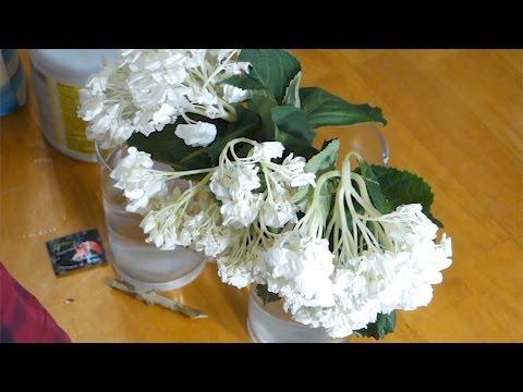 Как оживить мертвые цветы?